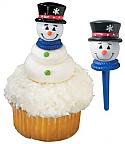 Snowman 1 Cupcake Picks