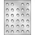 "7/8"" Egg Chocolate Mold"