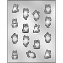Asst. Frogs Chocolate Mold