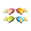 Birds of Fancy Asst. Colors Sugar Decorations