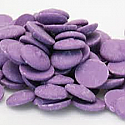 Merckens Purple (Vanilla) Coating Wafers - 1 lb