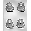 "2 3/4"" Monkey Chocolate Mold"