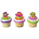 Spring Fancy Hat Cake Pics