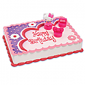 Hello Kitty Stamper Cake Toppers