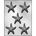 "3"" Starfish Chocolate Mold"