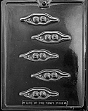 Two Peas In A Pod Chocolate Mold