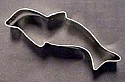 """4"""" Dolphin Cookie Cutter"""