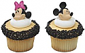 Minnie Mouse Cupcake Rings