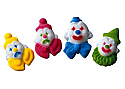 Birthday Clowns Sugar Decorations