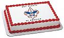 Boy Scouts Emblem Edible Image