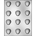 "1 1/2"" Shell Chocolate Mold"