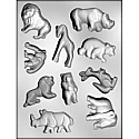 Zoo Animals Asst. Chocolate Mold
