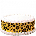 Safari Leopard Print Edible Image