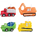 Construction Vehicle Candles