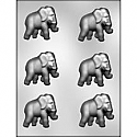 "2 1/4"" Elephant Chocolate Mold"